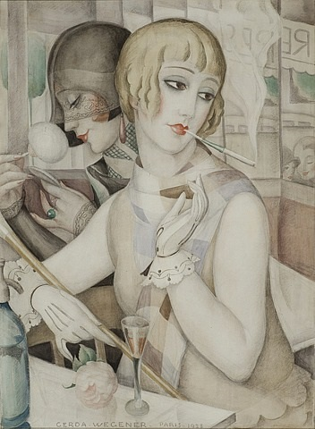 the aperitif by gerda wegener