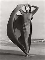 cindy crawford - ferre i, malibu by herb ritts