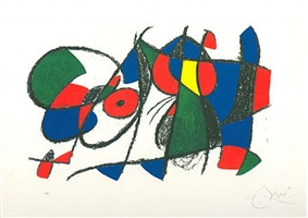 lithographs ii by joan miró