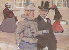 sur les boulevards by hermann paul