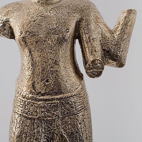 khmer torso (detail) by sherrie levine