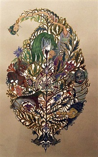 big paisely (japanese ghost version) by kako ueda