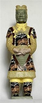 terracotta warrior - yasser arafat by liu fenghua & liu yong