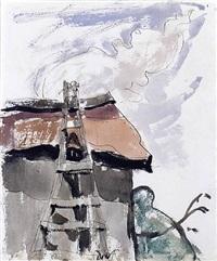 ladder by arthur dove