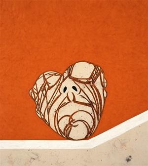 head (pc0417) by tony bevan