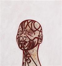 self-portrait after messerschmidt (pc104) by tony bevan