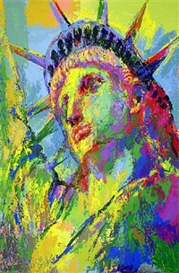 portrait of liberty by leroy neiman