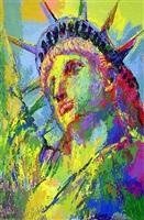 portrait of liberty by leroy neiman