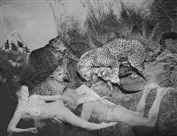 new paradise (leopard), 2000/2001 by oleg kulik