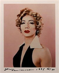 self portrait as marilyn monroe by yasumasa morimura