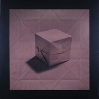origami cube by mark fichou
