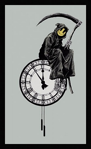the grin reaper by banksy