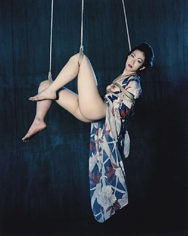 67 shooting back (no. 159) by nobuyoshi araki