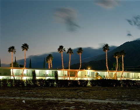 palm court inn, palm springs by robert polidori
