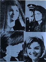 jacqueline kennedy iii (jackie iii), from 11 pop artists volume iii by andy warhol