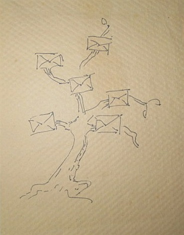 mail tree by man ray