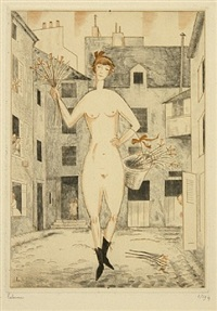 la folle by jean-emile laboureur