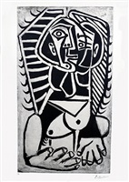 l'égyptienne by pablo picasso