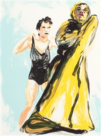 untitled (from annie, gwen, lilly, pam and tulip) by eric fischl