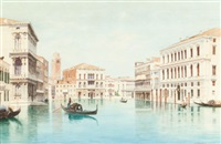 a view of the doge's palace by eugenio benvenuti