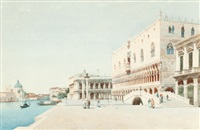 st. mark's square, venice by eugenio benvenuti
