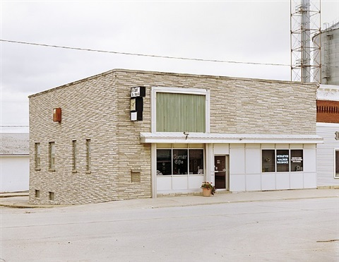 buildings: untitled (1886 clarence, ia), 2006 by frank breuer