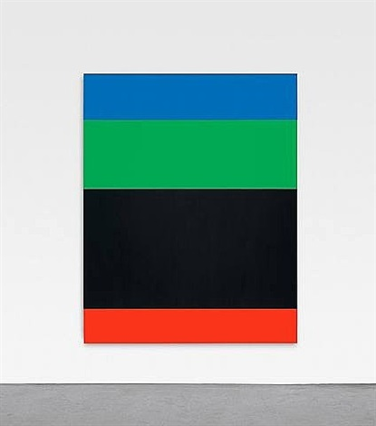 blue green black red by ellsworth kelly