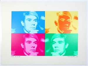 net finkelstein by andy warhol