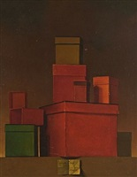 cajas (sold) by claudio bravo