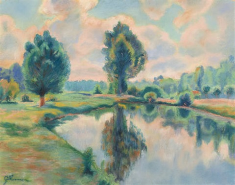 bord de rivière by armand guillaumin