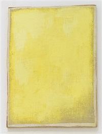 ohne titel (yellow frame painting #1) / untitled (yellow frame painting #1) by lawrence carroll