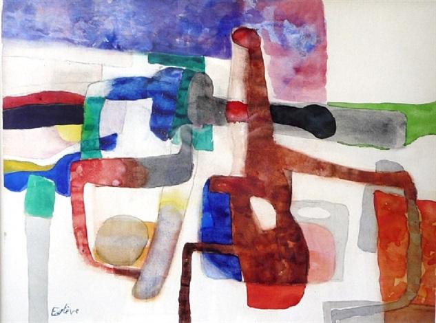 composition a24 by maurice estève