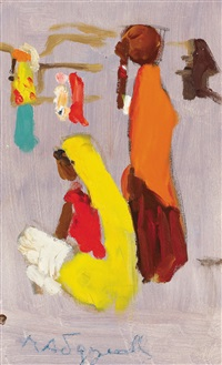 indian women by mikhail abdullayev