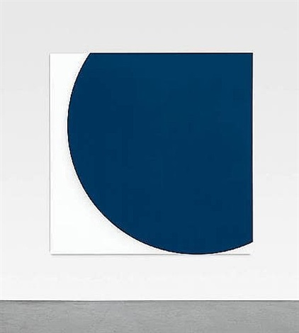 dark blue relief by ellsworth kelly