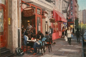 spring street cafe (sold) by vincent giarrano