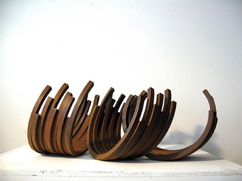 215.5º arc x 26 by bernar venet