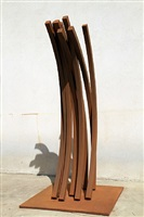 79.5º arc x 9 by bernar venet