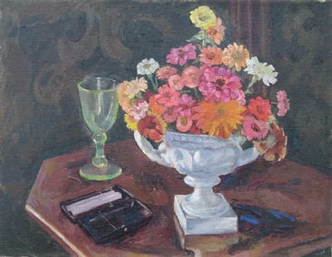 still life with flowers by rupert lee