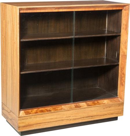 A Gilbert Rohde Paldao Wood And Glass Bookshelf For Herman Miller Zeeland Michigan