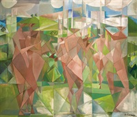 personnages cubistes by paul ackermann