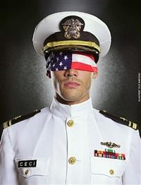 (#1) navy flag by laurent elie badessi
