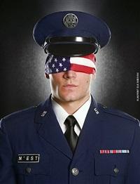 (#2) air force flag by laurent elie badessi