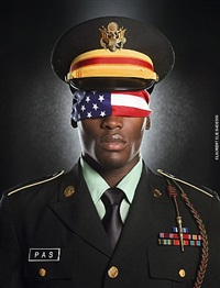 (#3)army flag by laurent elie badessi