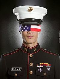 (#4)marines flag by laurent elie badessi