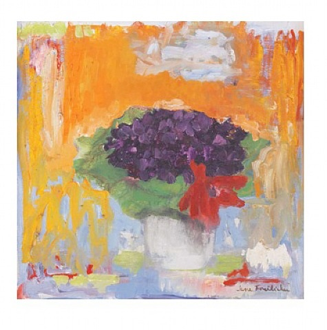 still life with flowers by jane freilicher