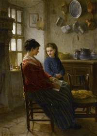the reading lesson by paul seignac