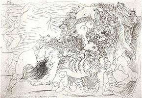 femme torero (bloch 1329) by pablo picasso