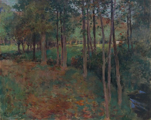giverny by willard leroy metcalf