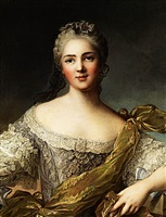 portrait de victoire de france by jean marc nattier