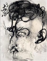 portrait of vladimir nemukhin by anatoly zverev
